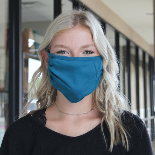 Face Mask - Canvas Teal