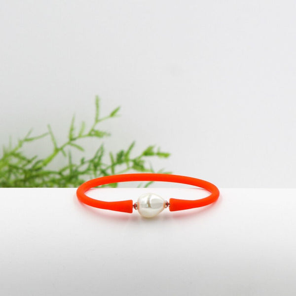 Savannah Silicone Bracelet Orange
