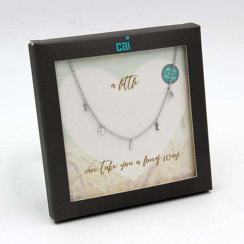 Faith Dangle Necklace