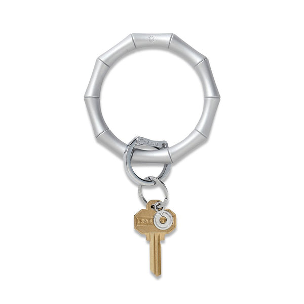Big O Silicone Key Ring: Quicksilver Bamboo