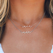 Pura Vida Delicate Wave Necklace Rose Gold