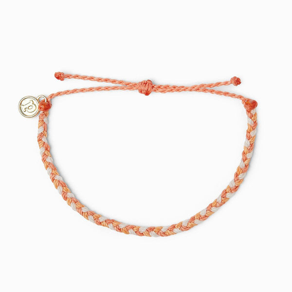 Pura Vida Mini Braided Bracelet Warm Shoreline