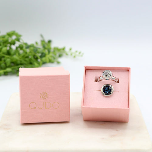 Qudo Night and Day Ring Gift Set