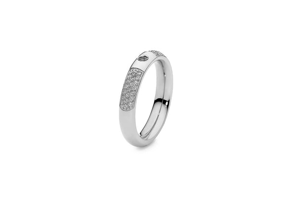 Qudo Stainless Deluxe Ring