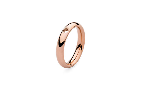 Qudo Rose Gold Sm Ring