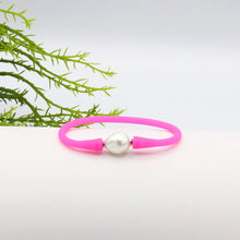 Savannah Silicone Bracelet Hot Pink