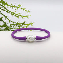 Savannah Silicone Bracelet Purple