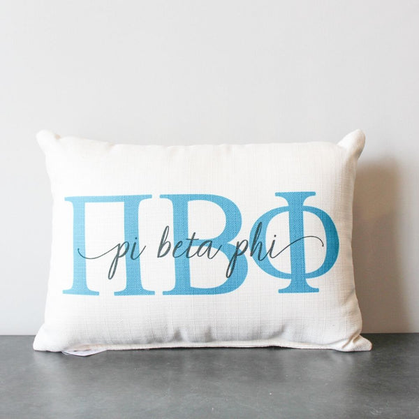 Pi Beta Phi Pillow