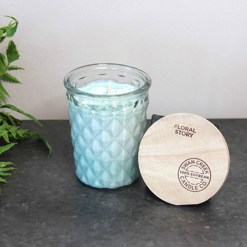 Swan Creek Timeless Candle Floral Story