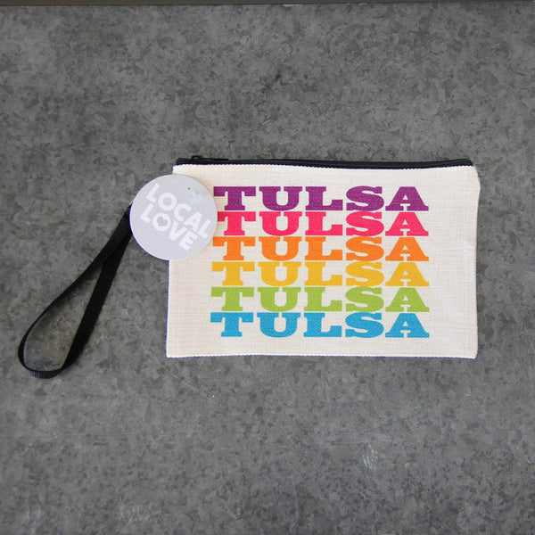 Tulsa Multi Colored Pouch