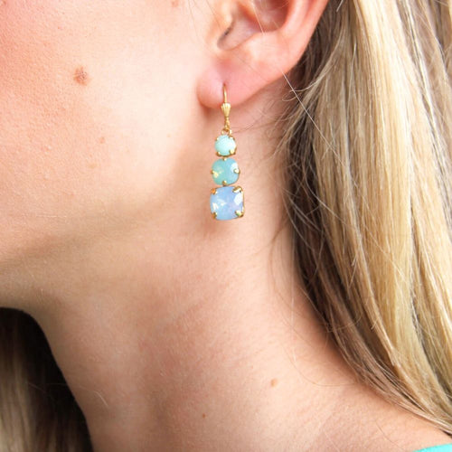 La Vie Parisienne Blue Skies Earrings