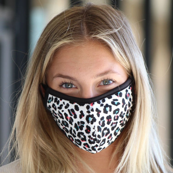 Face Mask - Multi Leopard