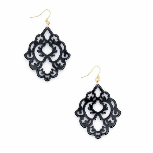 Zenzi Scroll Earring - Neutral