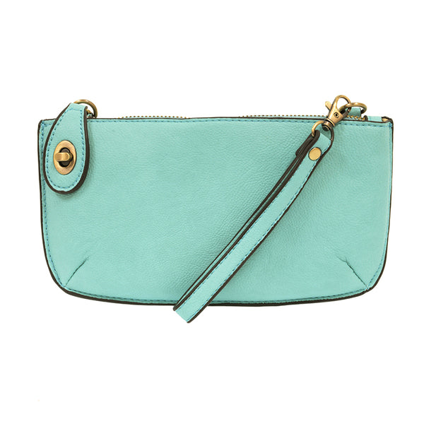 Joy Susan Mini Cross Body Clutch Aqua