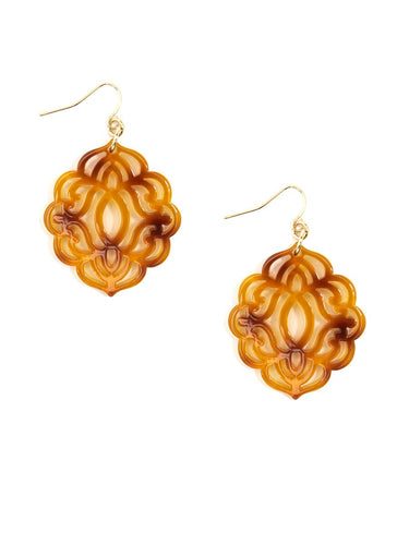 Zenzi Baroque Earring - Neutral