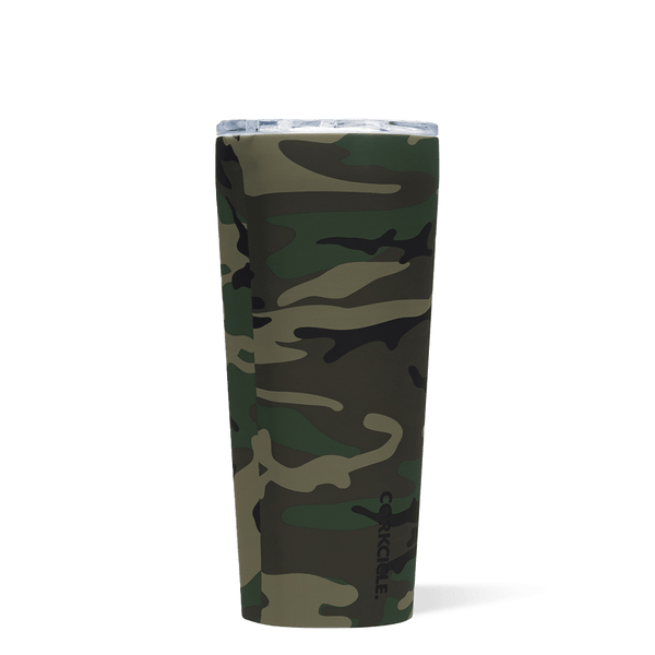 Corkcicle 24oz Insulated Tumbler Woodland Camo