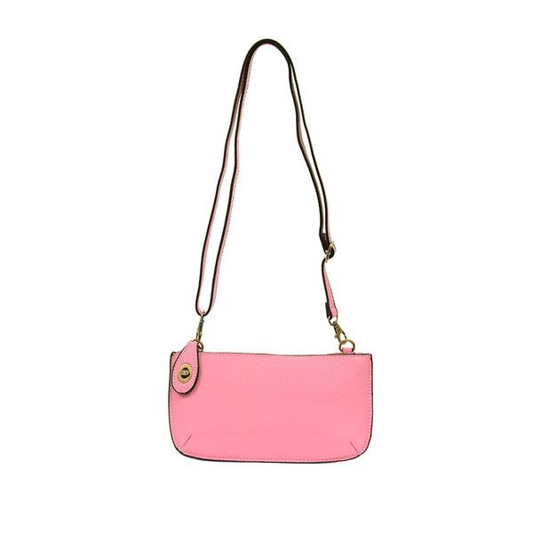 Joy Susan Mini Cross Body Clutch Carnation Pink