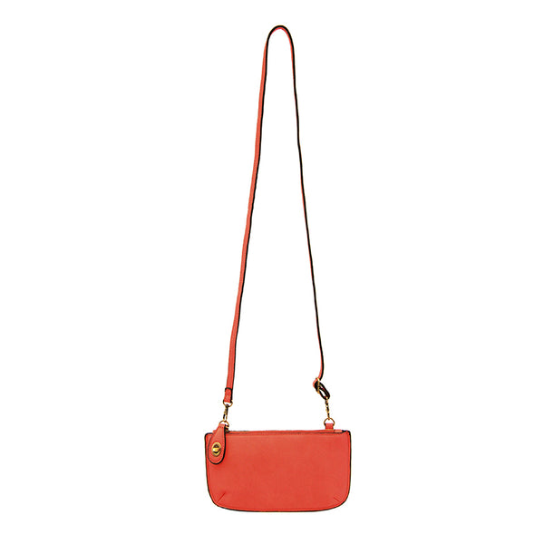 Joy Susan Mini Cross Body Clutch Flame Red