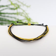 Pura Vida Custom Bracelet Black and Yellow