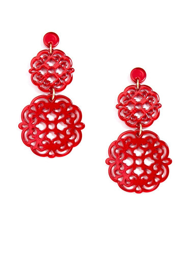 Zenzi Two Tiered Earring - Bold