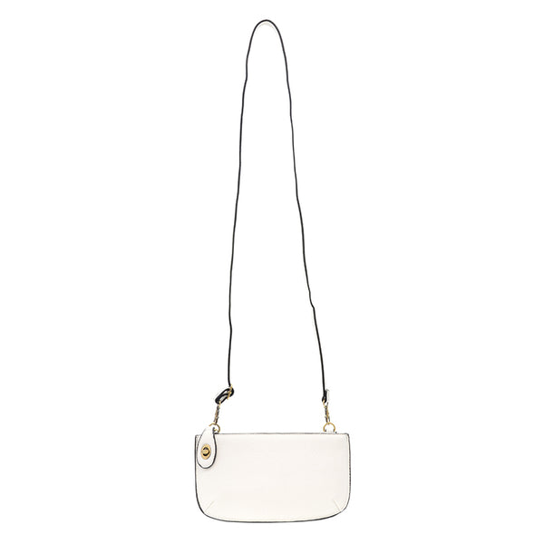 Joy Susan Mini Cross Body Clutch White