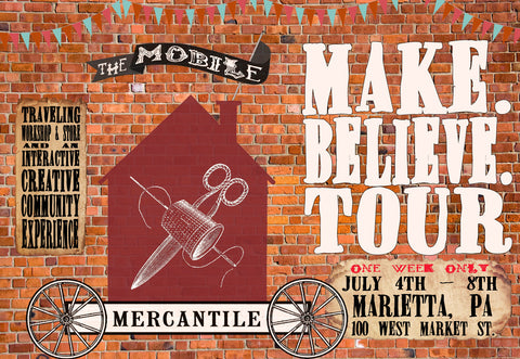 The Mobile Mercantile is in Marietta, PA