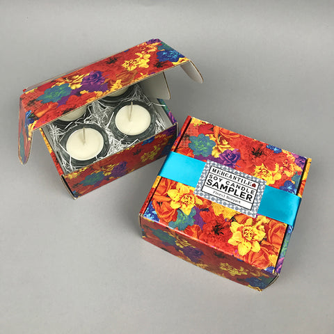 Votive Soy Candle Sampler - Floral Bouquet