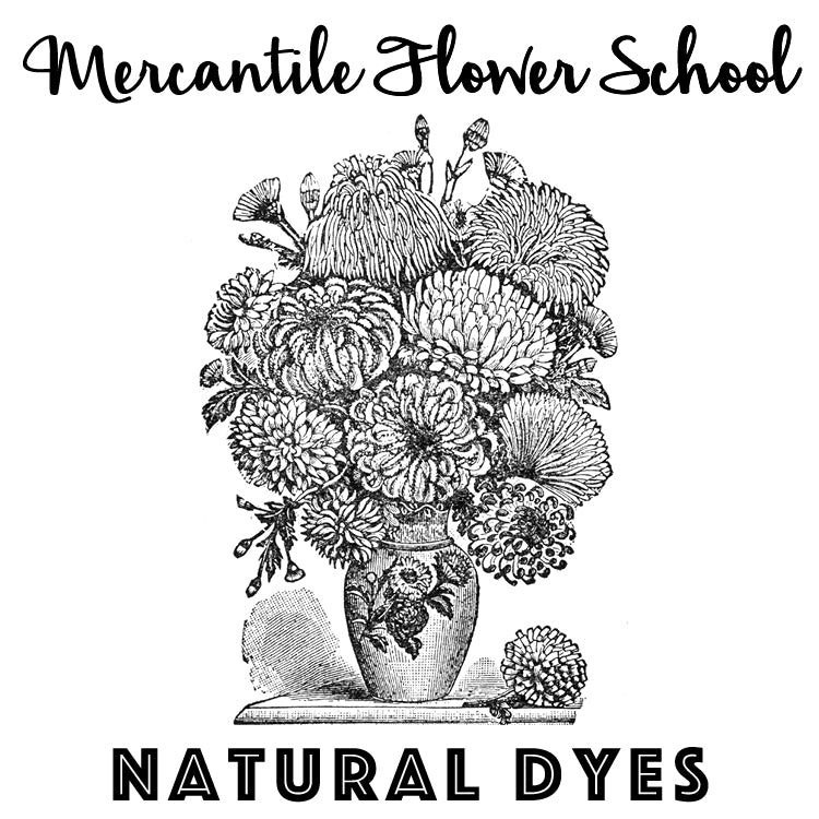 Flower School: Natural Dyes (October 11)