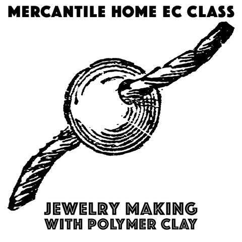 Jewelry Making with polymer clay (August 30)