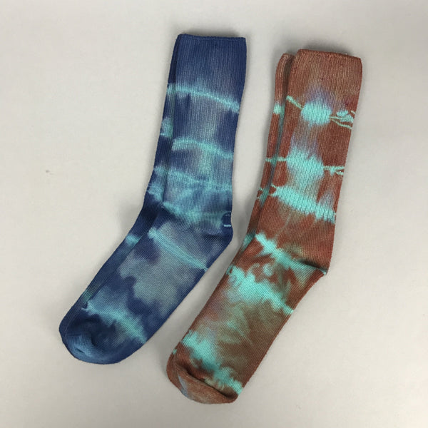 Hand-dyed socks