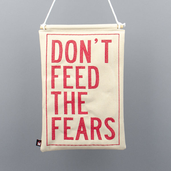 Don't Feed the Fears Banner