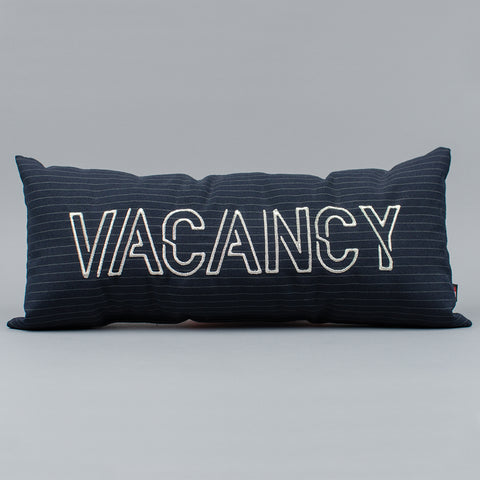 Vacancy/No Vacancy Pillow