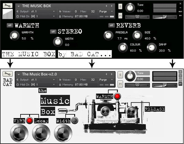 The Music Box v2.0 Update