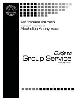 Guide to Group Service