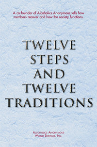 Twelve Steps and Twelve Traditions (Large Print)