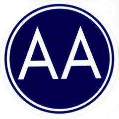 A.A. Meeting Sign