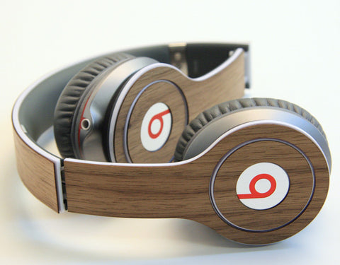 real wood covers for Beats by Dre headphones