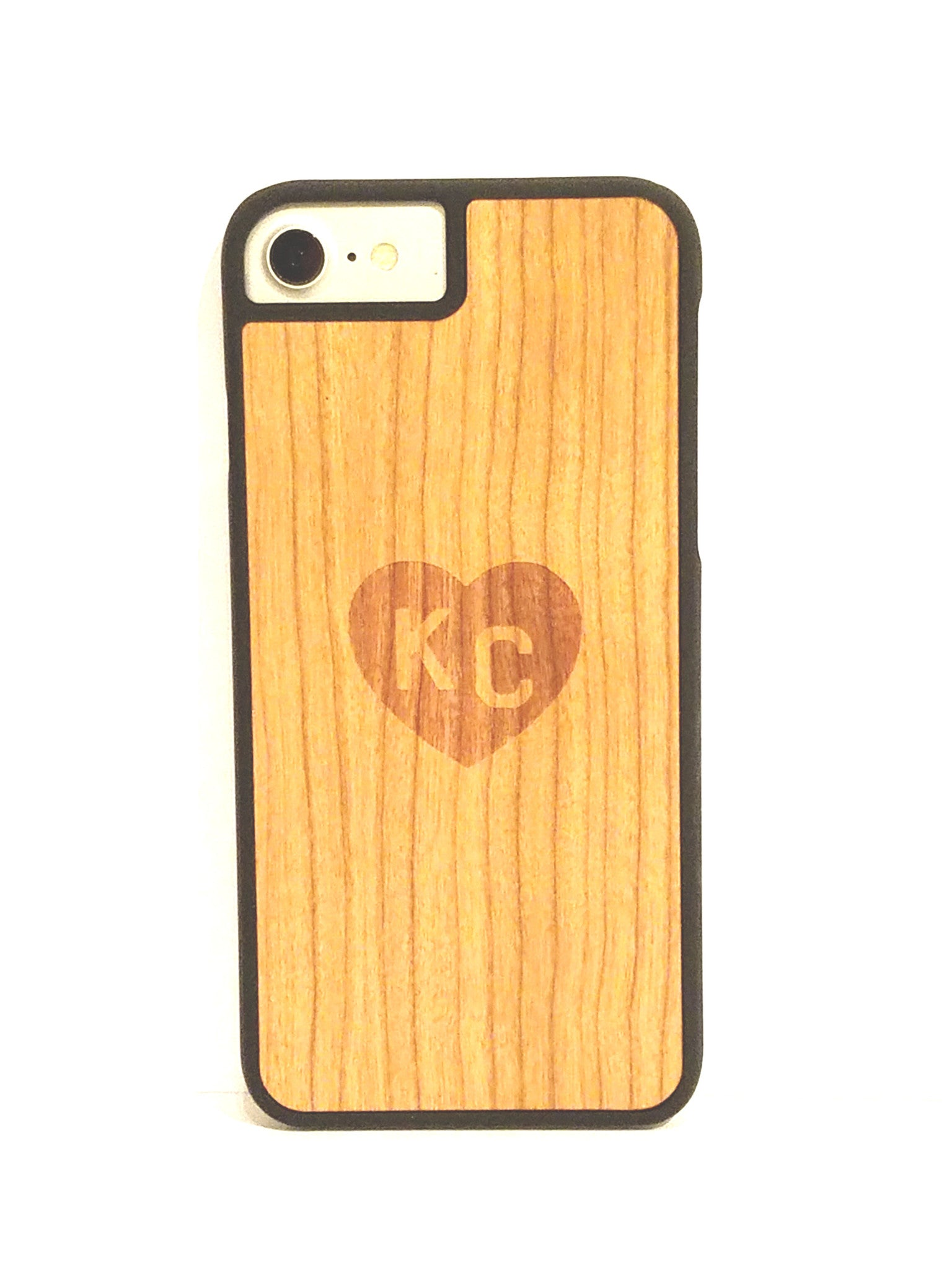"Cherry ""Heart KC"" snap case for iPhone 7"