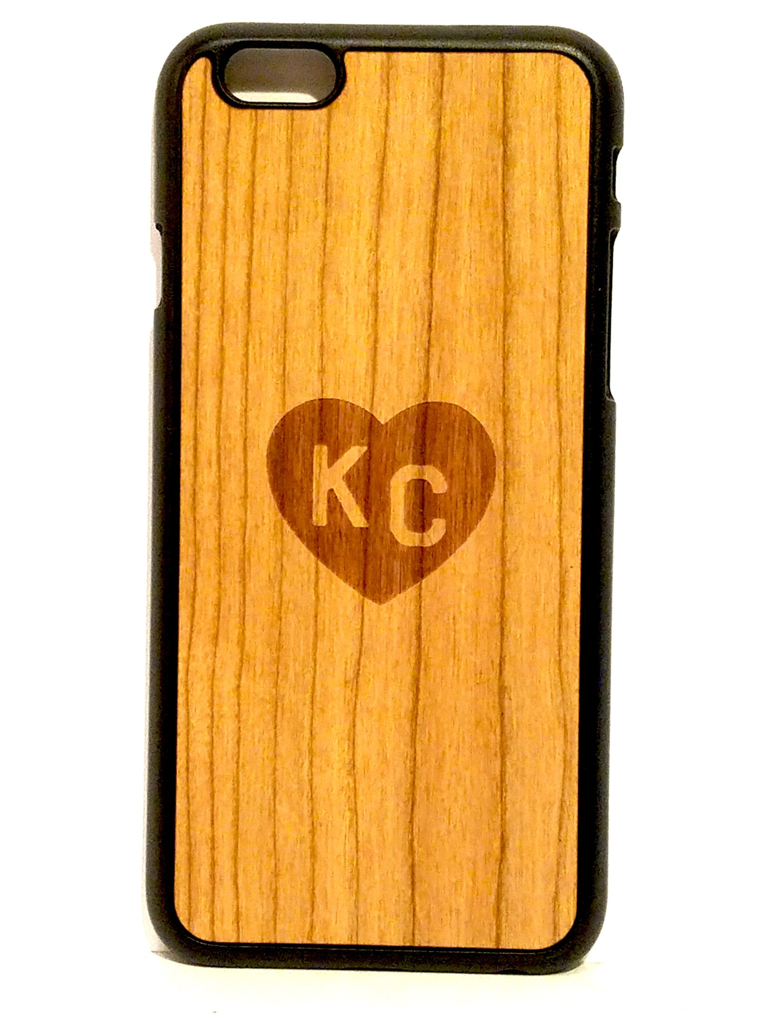 "Cherry ""Heart KC"" snap case for iPhone 6"