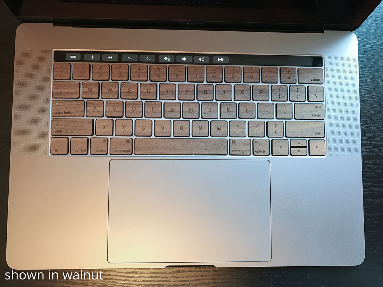 Lazerwood Keys for MacBook Pro Touch