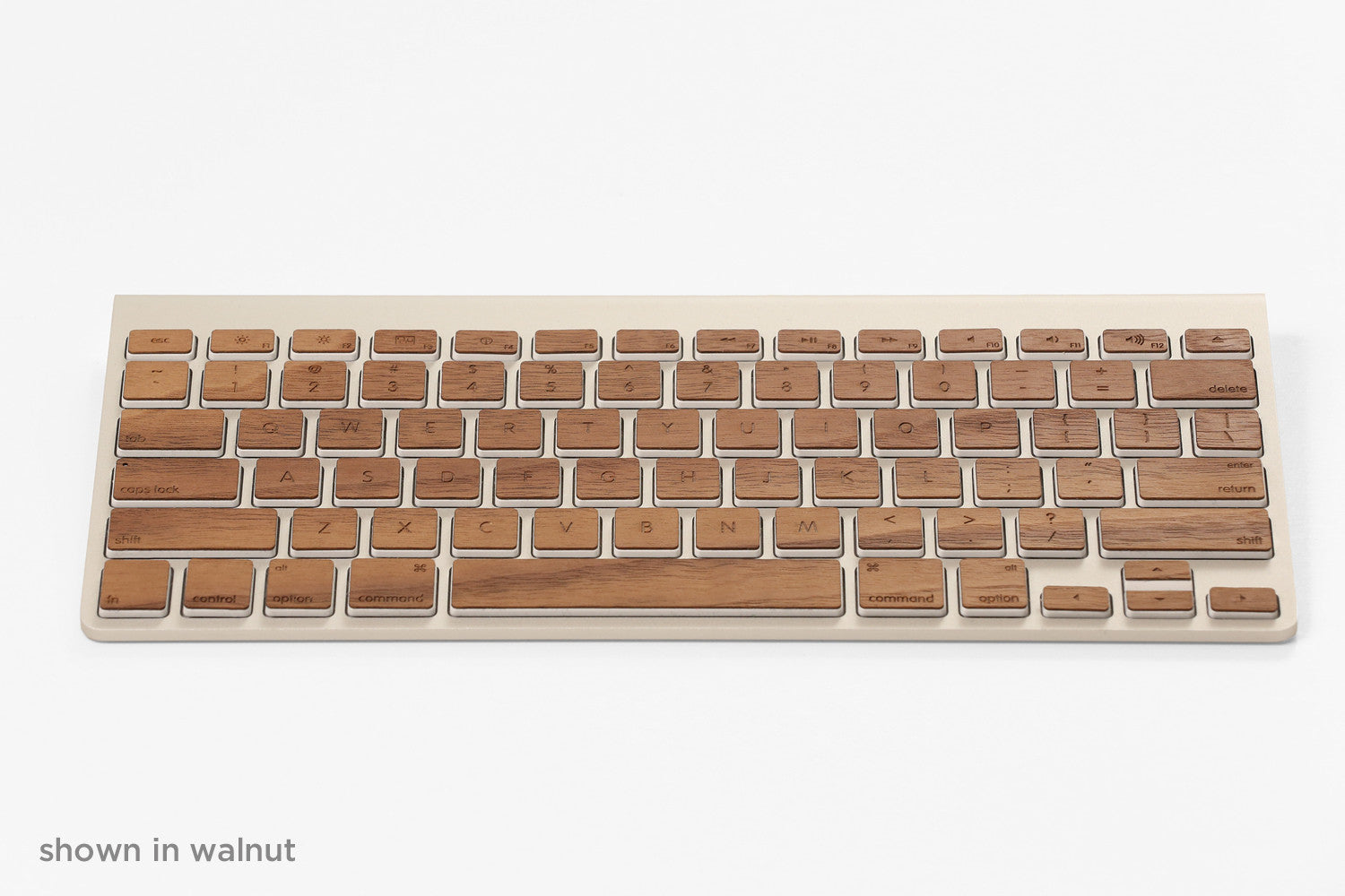 Lazerwood Keys for Apple Magic Keyboards