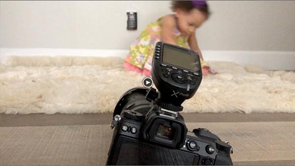 Behind-the-scenes of an Eiffel Baby photo & video shoot