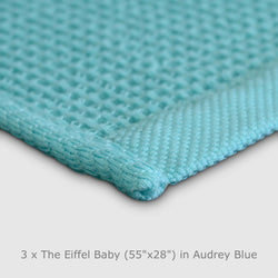 The Eiffel Baby Towel Blanket (3-Pack)