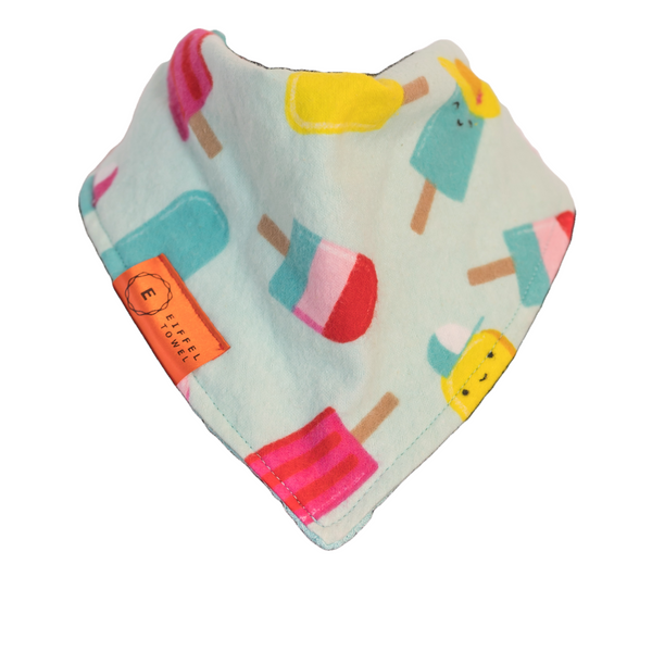 Pop The Popsicle Infant Bib