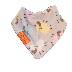 Sheep Happens Infant Bib