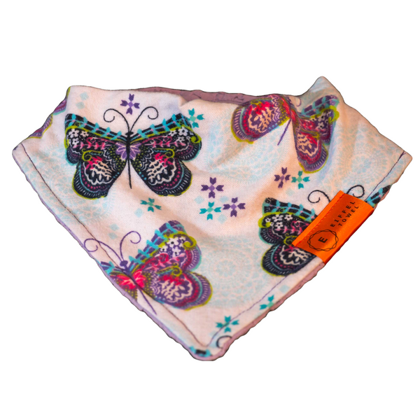 Float Like a Butterfly Infant Baby Bib