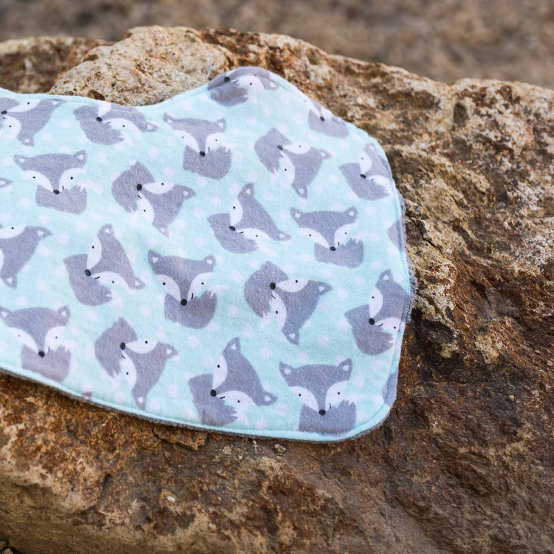 The Fox Said What?!?!? Infant Burp Cloth