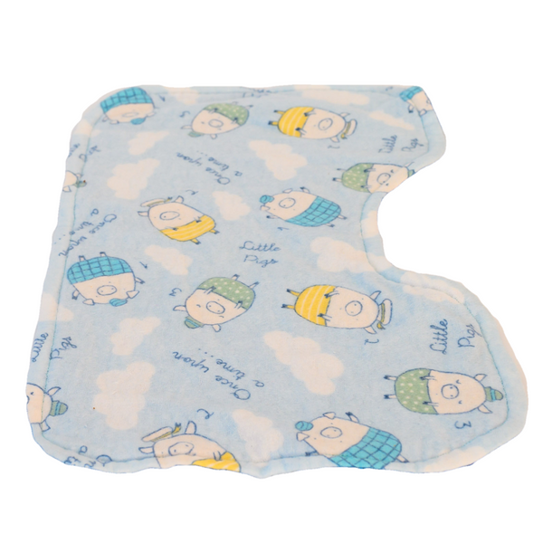 Huff, Puff & I'll Blow Your Mind Infant Burp Cloth