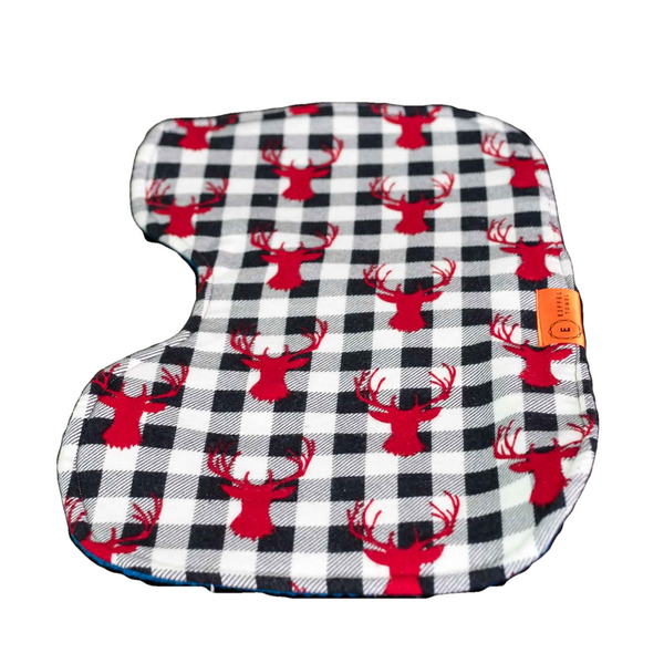 Merry Buckin' Christmas! Baby Burp Cloth