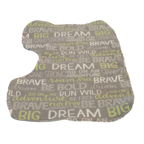 The Motivational Baby Infant Burp Cloth